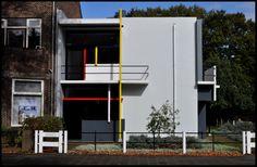 Gerrit Rietveld Schroder House 1924