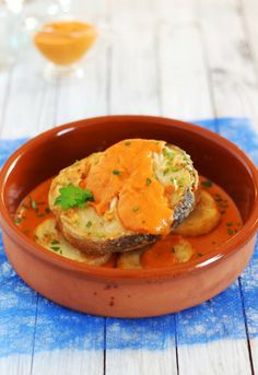 Receta 581: Merluza a la catalana » 1080 recetas de cocina, de Simone Ortega
