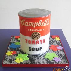 Campbell's Soup Can Cake