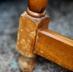 Mix together 1/4 cup of canola/olive oil and 3/4 cup vinegar to repair damaged wood. Dip a rag in it and simply wipe.