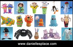 Cup Crafts for Kids on www.daniellesplace.com