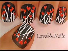 Beautiful Dancing Hearts Field nail art, learn how to draw brush stroke to draw grass and hearts. Thank you subscribers, who have requested to update this nail art video with step by step instructions and much more.     Please Comment, Like, and Sub for more videos.   Watch LuvableNails Playlist:    Most recent uploaded videos and visit my channel ht...