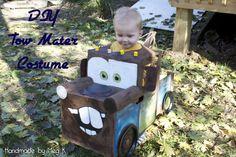 DIY 'Tow Mater' Costume