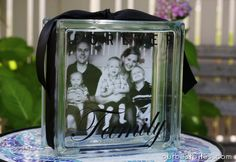 Photo Glass Block