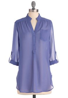 Sheer for You Top in Lilac