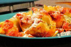 """TLC Cooking """"Spinach and Artichoke Stuffed Shells"""""""