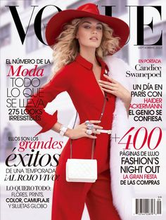 vogue, candic swanepoel, magazin cover, mexico septemb, candice swanepoel