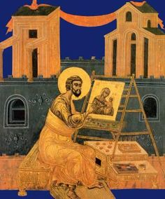 St. Luke painting the Icon of the Virgin