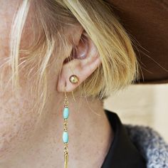 The Blair studs are a classic pair that's sure to go with everything. www.mooreaseal.com