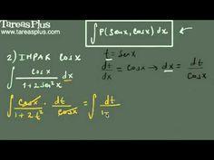 Integral de una función impar en coseno