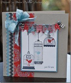 Stampin up aviary stamp set
