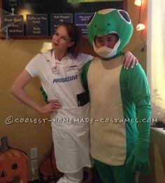 Easy Homemade Flo Costume... Coolest Homemade Costume Contest