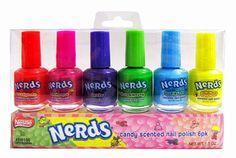nerds nailpolish