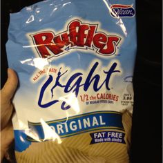 Ruffles lite chips only 2 weight watchers points plus for 15 chips