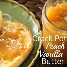 Crock-Pot Peach Vanilla Butter recipe via @CrockPotLadies