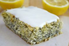 Lemon Poppy Seed Squares