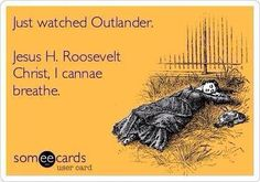 #Outlander I cannae breath! Watch first full episode for FREE, Hit the link to watch: http://youtu.be/hlTvwLb2v9Q OR http://www.starz.com/videos/video/6dd18f29a87b4d3188e9963c7bf68e67 No subscription needed. Other questions on viewing: http://bit.ly/1tzCABO