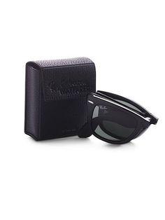 Folding Wayfarer Sunglasses  ray ban <3