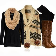 Winter Outfit. CUTE!!