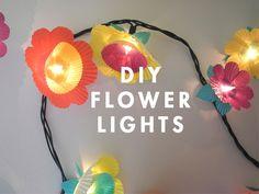 katairin:    Creative ideas - DIY Flower lights