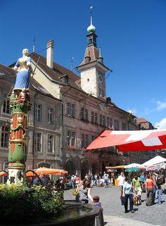 Town Square, Switzerland