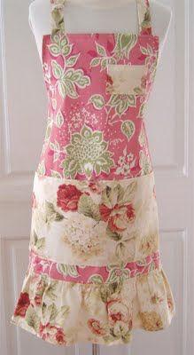 color me pink apron