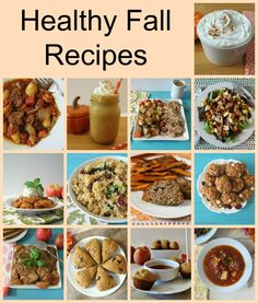 Healthy Fall Recipes . - All of my favorite recipes from breakfast to the crockpot.