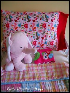 Homemade Pillowcases
