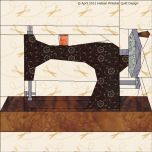 2013 - Paper Pieced Sewing Basket Quilt BOM - Heleen Pinkster Quilt Design