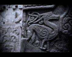 pictish stone carving