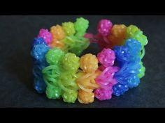 Rianbow Loom™ Bobbidi Bracelet Tutorial - YouTube