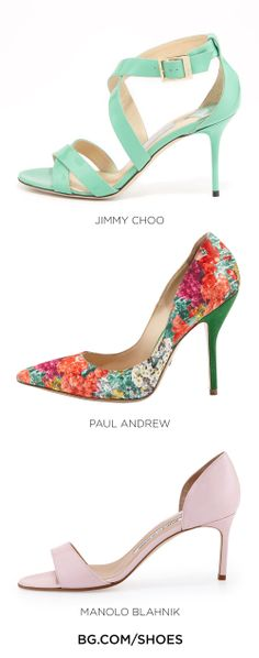 Hues to for your wedding shoes...