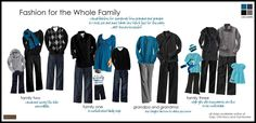 What to Wear - Extended Family