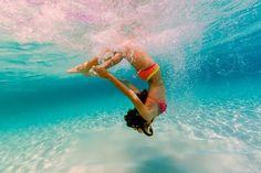 Under water fun!
