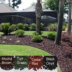 YardWise rubber landscape mulch is a great solution for any yard. Made from recycled rubber tires, YardWise is a high quality, beautiful landscape rubber mulch.