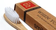 Bamboo toothbrush. You buy one, they give one. product, style, stuff, bamboo toothbrush, children, babi, gift idea, thing, sustain toothbrush