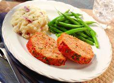 Eating for Life Turkey Meatloaf
