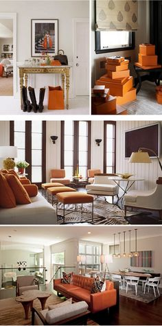 great orange spaces