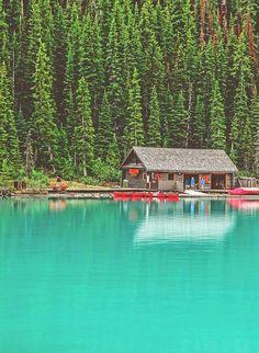 dreaming of away: lake louise, canada