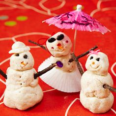 """""""snow"""" dough"""