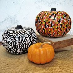 Halloween Fun! Easy Duct Tape Pumpkins!