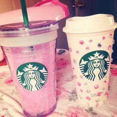 DIY Starbucks cups!