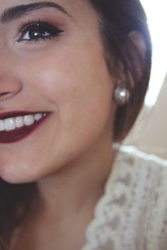 Beautiful holiday makeup.  #makeup