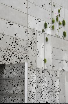 San Telmo Museum, Spain: Nieto Sobejano Arquitectos  (semi-plant wall covering the building with perforated steel sheet)