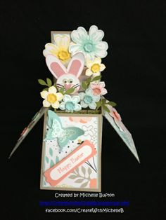 Easter Bunny Box Card