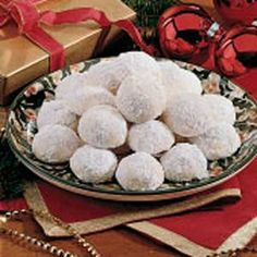 Lemon Snowballs Cookie Recipe