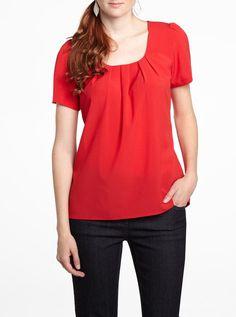 sleev blous, short sleeve blouse