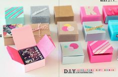 instagram diy gift box