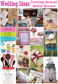 Cooking-themed bridal shower