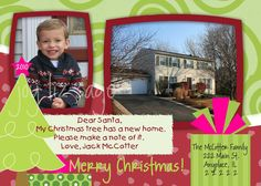 Moving Announcement/ Christmas Card